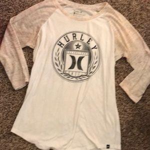 White Hurley shirt